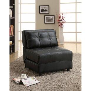 Latitude Run Voorhies Armless Swivel Convertible Chair