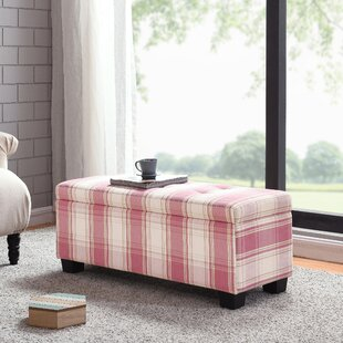 Callista Plaid Tufted Storage Ottoman