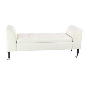 Brechin Tufted Upholstered Bench