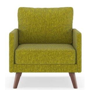 Corrigan Studio Crader Pebble Weave Armchair