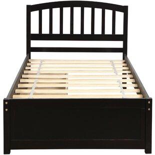 Devona Twin Storage Sleigh Platform Bed by Red Barrel Studio