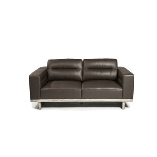 Ignazio Leather Loveseat