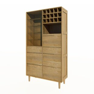 Kelsey Bar With Wine Storage By George Oliver
