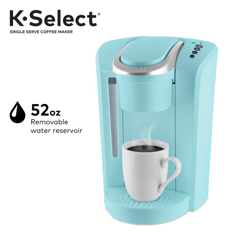 Keurig K-Select, Single Serve K-Cup Pod Coffee Maker, Strength Control