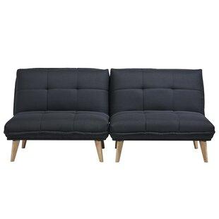 Ebern Designs Cheltenham Convertible Chair (Set of 2)