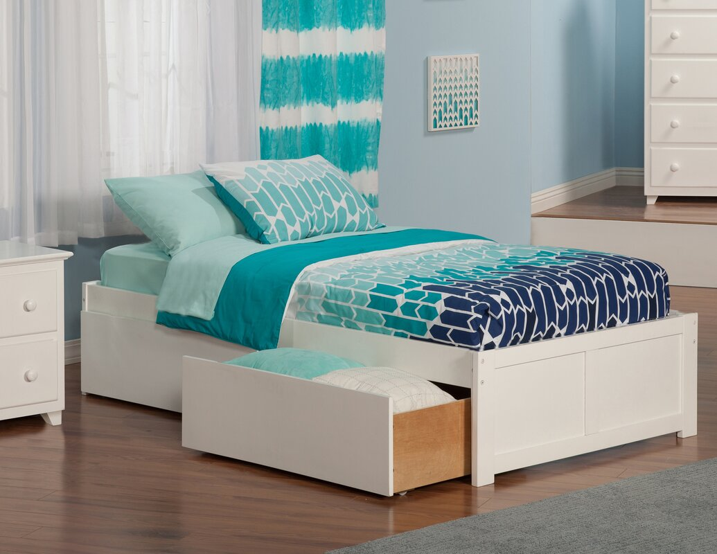 Andover Mills Mackenzie Extra Long Twin Platform Bed With Storage