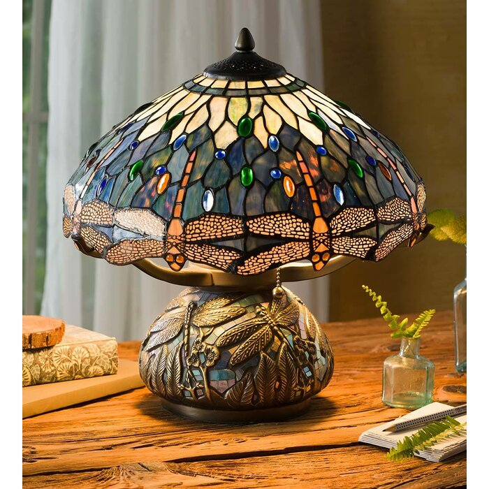 Tiffany Style Dragonfly 16 Table Lamp