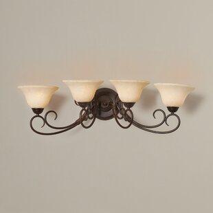 Gaines 4-Light Vanity Light by Alcott Hill