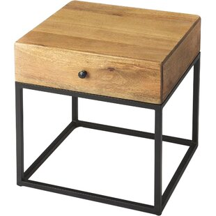 Great Price Hutchinson End Table By Union Rustic