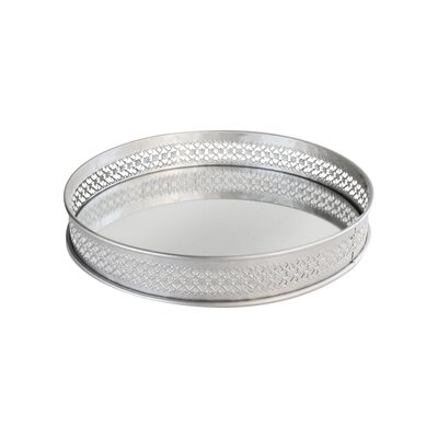 Charlton Home Tolan Gold Accent Tray