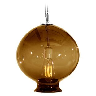 Vesuvius Juno 1-Light Globe Pendant by Tempo Luxury Home Collection