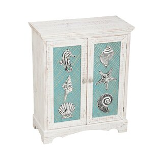 Jonel Coastal Icons 2 Door Cabinet by Highland Dunes