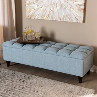 Quam Upholstered Storage Bench