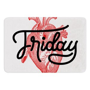 Friday by Roberlan Bath Mat