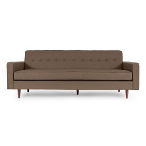 Modern Contemporary Leather Mid Century Sofas AllModern