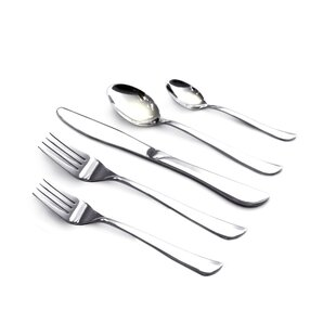 Marilyn 20 Piece 18/10 Stainless Steel Flatware Set, Service for 4