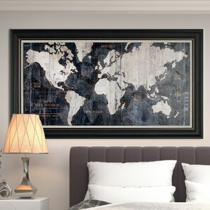 World Wall Art top picks: map wall art you'll love | wayfair