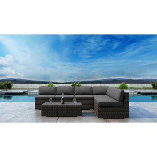 Gilleland 7 Piece Sectional Set with Sunbrella Cushion by Orren Ellis