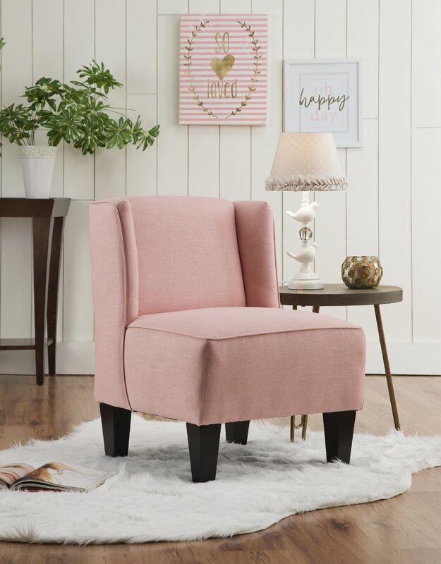 Mistana Landon Winged Slipper Chair & Reviews | Wayfair