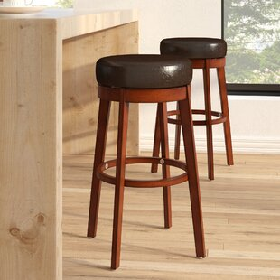 Henley 30 Swivel Bar Stool Latitude Run