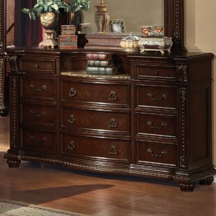 Wentz 9 Drawer Dresser