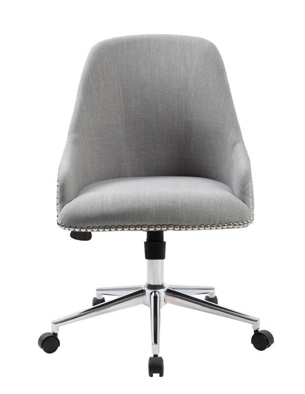 mercury row ried mid-back desk chair & reviews | wayfair