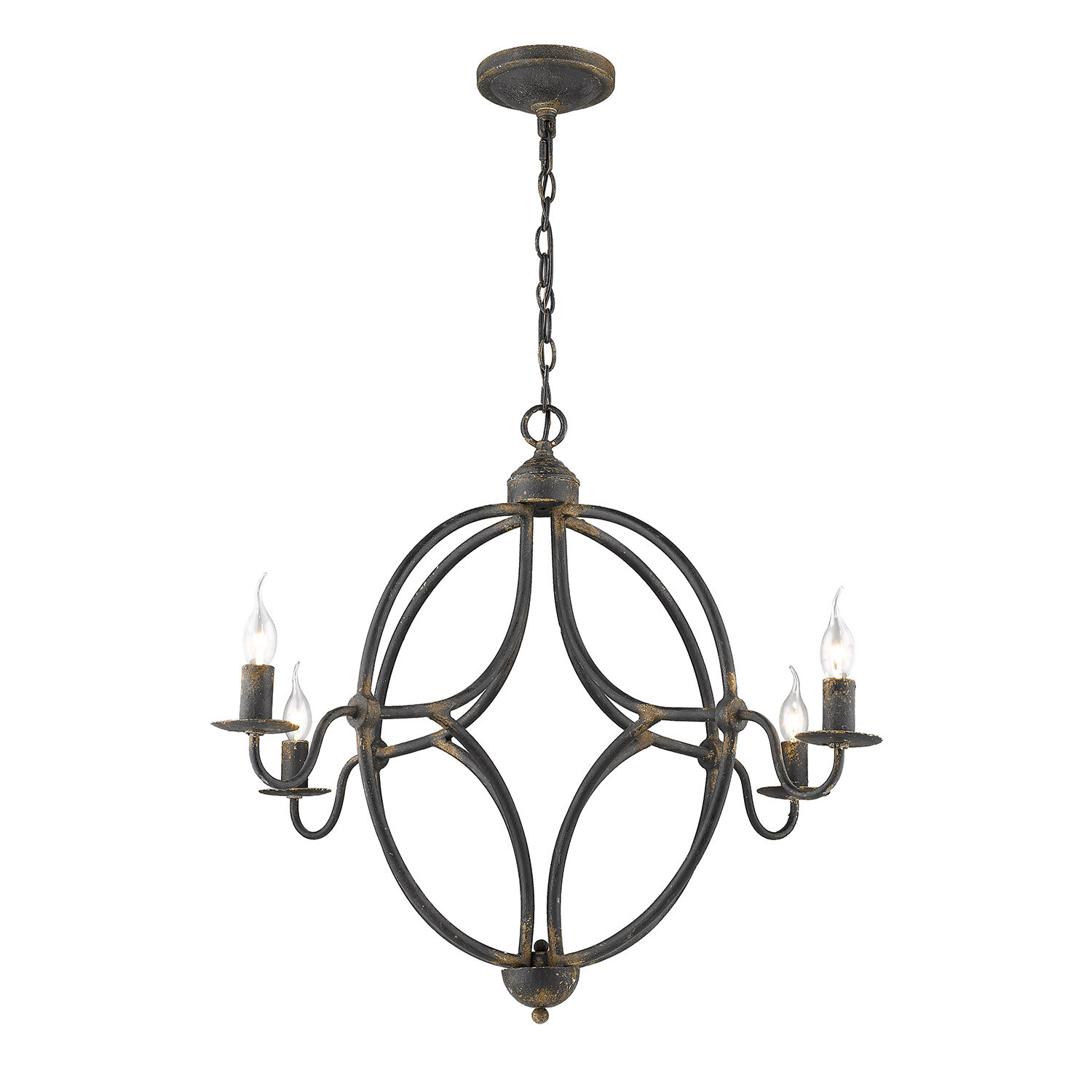 August Grove Castlebar 4 Light Candle Style Classic Traditional Chandelier Reviews Wayfair