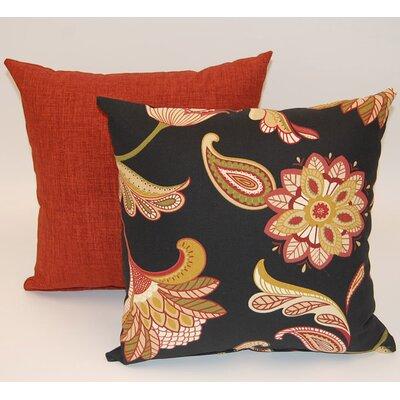 2 Piece Savannah Knife Edge Cotton Throw Pillow Set Dakotah Pillow