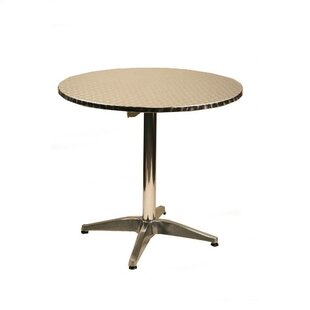 36 Round Top Aluminum Table by Alston Find