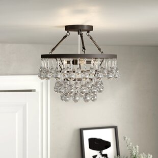 Kerr 5-Light Semi Flush Mount by Rosdorf Park