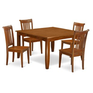 Parfait 5 Piece Extendable Dining Set