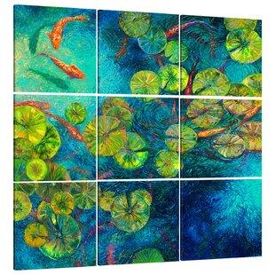 9 piece wall art wayfair