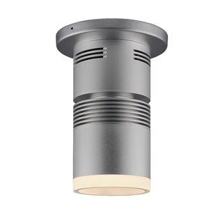 Symple Stuff Culebra 1-Light LED Flush Mount