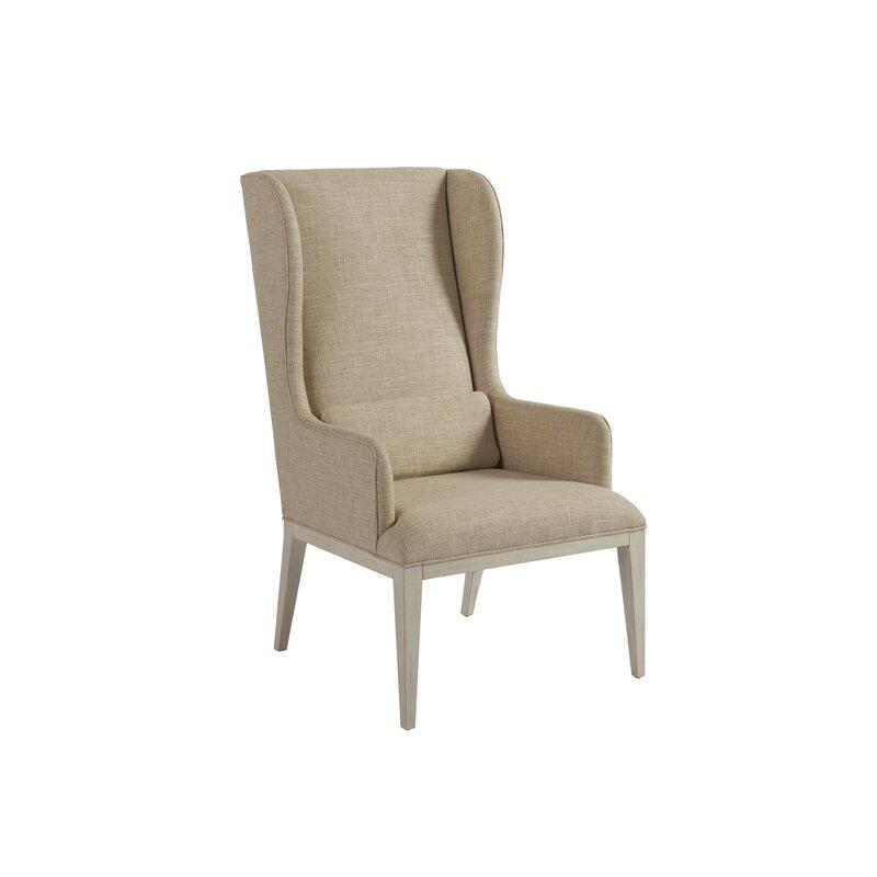 Newport Upholstered Dining Arm Chair Birch Lane