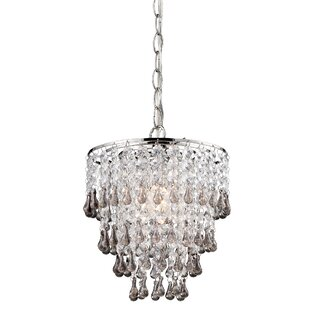 Labonte 1-Light Crystal Pendant by House of Hampton