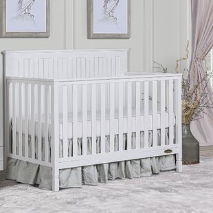 Great Price Alexa 5-in-1 Convertible Crib By Dream On Me