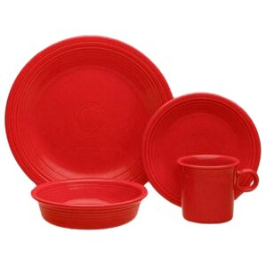 4 Piece Place Setting Set, Service For 1