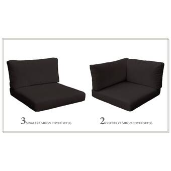 Sol 72 Outdoor Outdoor Replacement Cushion Set Wayfair