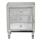 Velda 3 Drawer Accent Chest by House of Hampton®