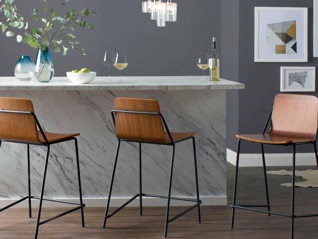 Excellent Modern Barstools Counter Stools Allmodern Machost Co Dining Chair Design Ideas Machostcouk