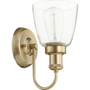 Great choice Dougherty 1-Light Armed Sconce By Breakwater Bay