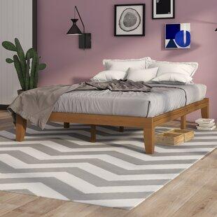 Wooden Platform Bed Wayfaircouk