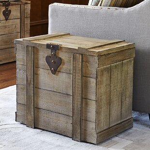 August Grove Blakeney Small Wooden Home Chest
