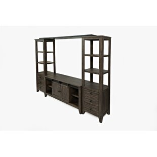 Westhoff Solid Wood Entertainment Center For TVs Up To 88