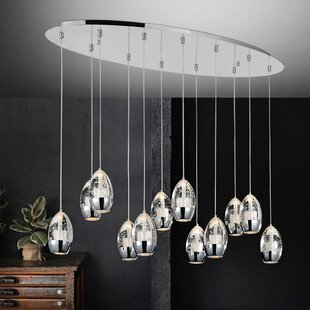 Orren Ellis Bagley 12-Light Kitchen Islan..