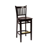 Delran Solid Wood 29.5 Bar Stool by BFM Seating