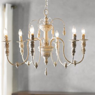 Candle chandeliers youll love wayfair paladino 6 light candle style chandelier audiocablefo