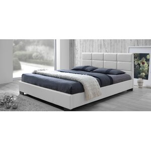 save to idea board dark brown white - White Leather Bed Frame