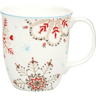 Winter Bone China Mug