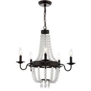 Gracie Oaks Berenice 5-Light Empire Chandelier